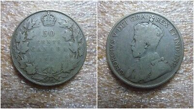"1932 Canada 50 Cents ""key Date"""