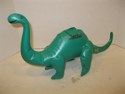 Sinclair Gas Dino Blow-up Dinosaur #830 Older Hang Tab or Desk Top