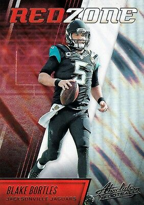 Blake Bortles 2016 Panini Absolute, Red Zone, Football Card !!