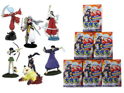 NEW 6 COMPLET SET!! Furuta Inuyasha Fire on the Mystic Island Collection Figure