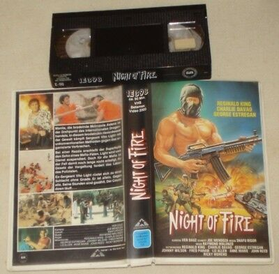 Night of Fire VHS Mike Hunter