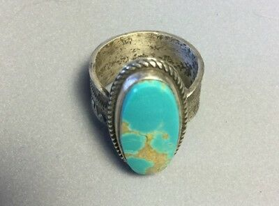Authentic Navajo Turquoise Ring