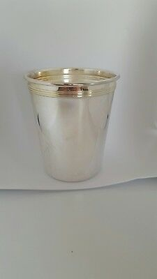 Mint Julep Cup Silver Plated Made In Hong Kong
