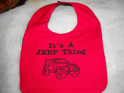 It's A JEEP Thing w/ Jeep (red)