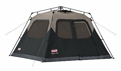 EZ Pop Up Tent Instant Easy Set Up 6 Man Person Camping Screen Windows Durable