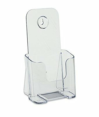 Acrylic Trifold Brochure Holder - Pamphlet Display Stand (4/Pack)