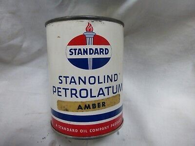 Standard Oil 1#grease Can/gas/oi