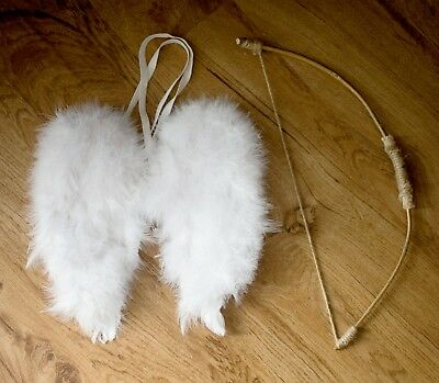 Photo Prop: Cupid Wings and Bow
