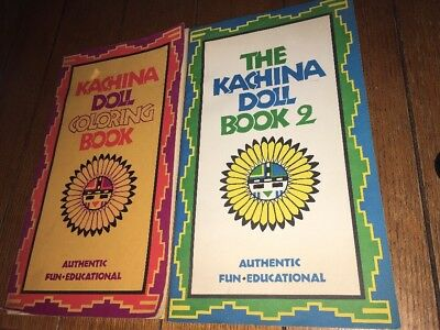 Vintage Kachina Doll Coloring Book - No Pages Have Any Coloring