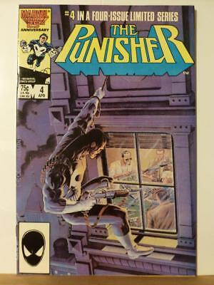 The Punisher #4 Limited Series MIke Zeck 1985