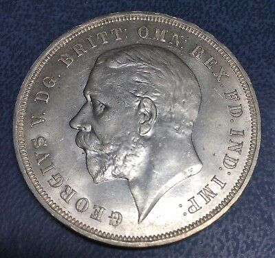 GREAT BRITAIN CROWN 1935 SILVER, George V, Silver Jubilee