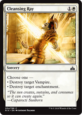 MTG Magic the Gathering 4x Cleansing Ray Rivals of IXALAN MINT