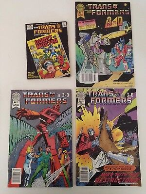 Transformers 3-D, Magazine Comic Lot