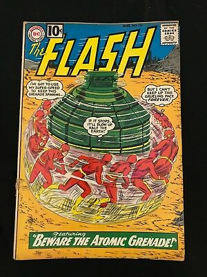 The Flash #122 Gd+ The Origin & First Appearance Of The Top!