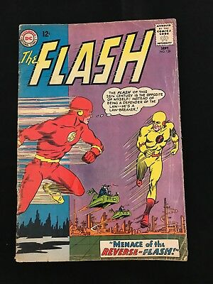 The Flash #139 Gd Origin & First Appearance Of Professor Zoom (Reverse-Flash)!
