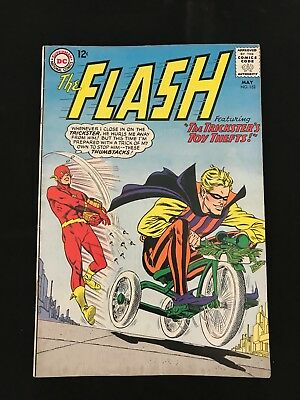 The Flash #152 Vg+ Dc Comics Silver Age Flash!