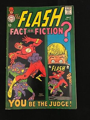 The Flash #179 Vg Dc Comics Silver Age Flash!