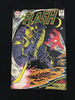 The Flash #180 Vg Dc Comics Silver Age Flash!