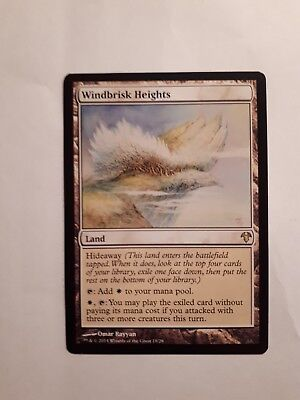 WINDBRISK HEIGHTS Modern Event Deck MTG  Land RARE