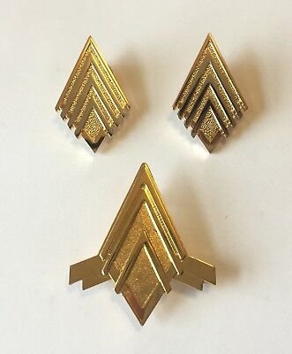 Battlestar Galactica (BSG) Major Rank Pin Set & Junior Officer Wings