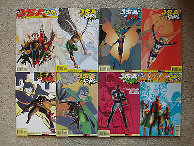 JSA ALL STARS 1-8 in NM/M 2003-2004 Justice Society of America