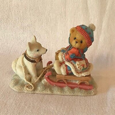 Cherished Teddies - 176028 - Erica - Friends Are Always Pulling For You - Winter
