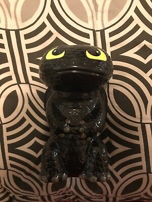 How to Train Your Dragon - Toothless - Ceramic Piggy Bank