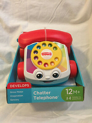 New Fisher Price Chatter Telephone, 12M+, Free Shipping!