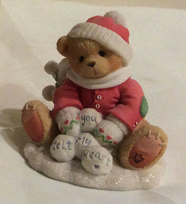 "Cherished Teddies - Ted ""Snow Fun When you are Not Around"""