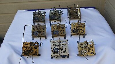 Large Lot of New Old Stock & Used Cuckoo Clock Movements  ,Lot # 3