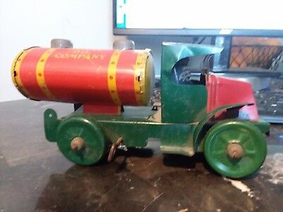 Vintage Marx Royal Oil Company Tin Wind up Gas Truck