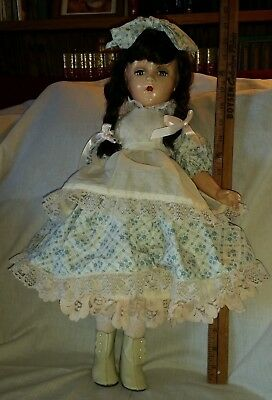 """Antique Composition? Girl Doll 20"""""""