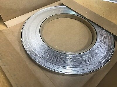 "Stainless Steel Banding, Strapping, Tensioning 1/2"" x .020"" x 200' Coil"