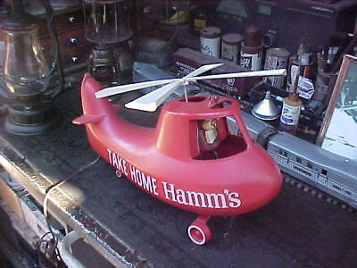 Hamm's beer helicopter , bouncing bear advertising piece.....1960s