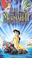 Little Mermaid II, The: Return to the Sea (VHS, 2000)