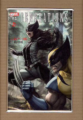 Generations Wolverine & All-New Wolverine #1 Stanley Artgerm Lau  Expo Variant