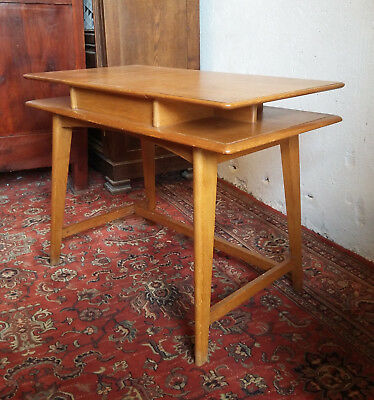 Lovely office Scandinavian oak wood vintage 60's