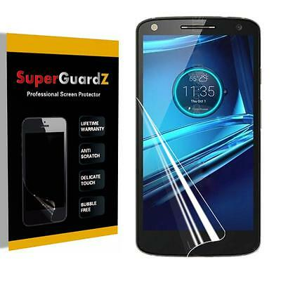 4X SuperGuardZ HD Clear Screen Protector Film Shield for Motorola Droid Turbo 2