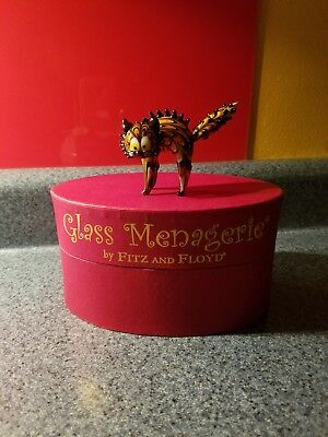 Glass Menagerie Fitz and Floyd Cat