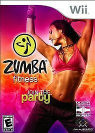 Zumba Fitness join the party belt not included (Nintendo Wii, 2010)