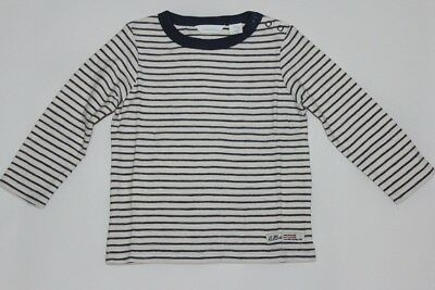 BRAND NEW COUNTRY ROAD BABY BOYS SPACE STRIPE (navy&green) SHIRTS