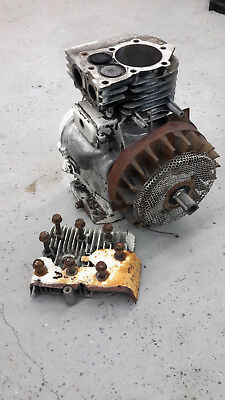 Vintage Briggs & Stratton 5.0 HP Engine 130202 Mini bike Go Kart Tiller crank