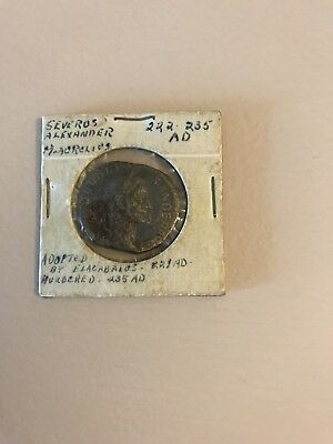 Severus Alexander 225 - 235 AD ancient coin