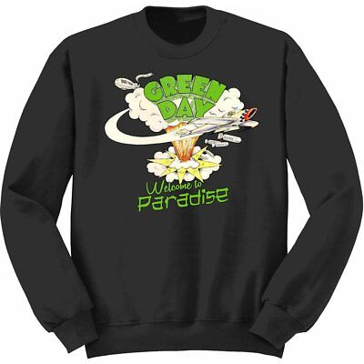 NEW Green Day Kids Youth's Fit Sweatshirt: Welcome to Paradise (5 - 6 Years (Med