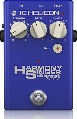 TC Helicon 996371001 HARMONY SINGER 2 Vocal Effects Stomp Box