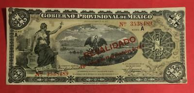 "1914 $1 US Mexico GOLD "" LARGE SIZE"" Choice Crisp AU Currency!"