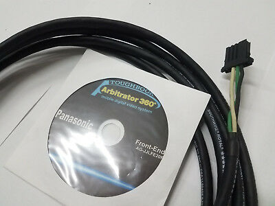 Panasonic Arbitrator 360 Ag-Jjlfe-20P Software And Power Cable
