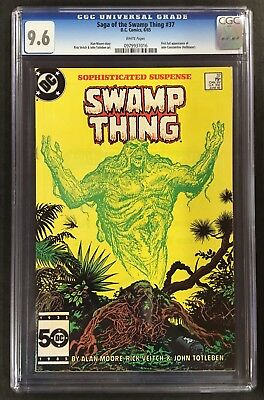 "Swamp Thing (1982 2nd Series) #37 CGC 9.6 ""1st John Constantine"""