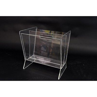 VINTAGE LUCITE MAGAZINE Holder 4040 PicClick Classy Lucite Magazine Holder