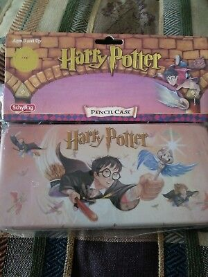 Harry Potter Pencil Case hardcover with removable tray Schylling 2000